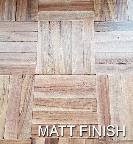 Floor varnish - matt finish