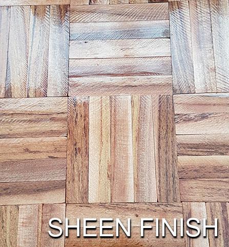 floor varnish - sheen finish