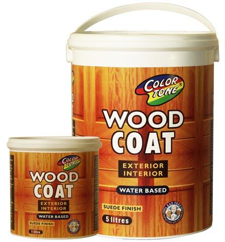 Wood coat - Colortone wood varnish and wood sealer