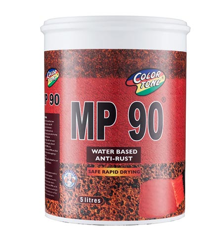 MP90 is a safe,rapid drying,rust inhibiting water based anti rust coating.