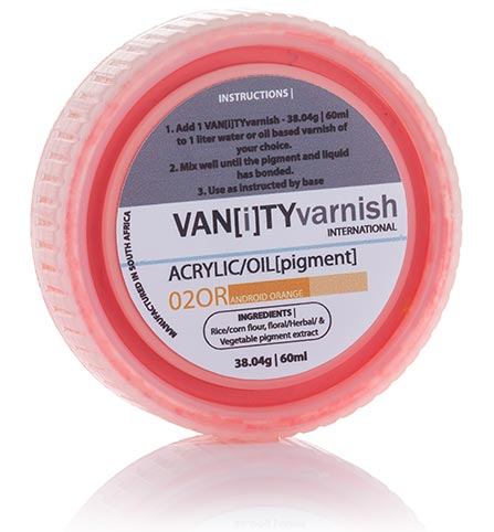 Vanity Varnish Colour Pigment Powder